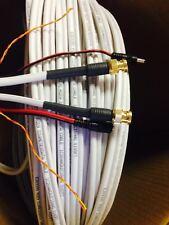 50'PLUG PLAY CCTV VIDEO RG59U RS485 POWER PTZ DATA SIAMESE COMPRESSION BNC CABLE