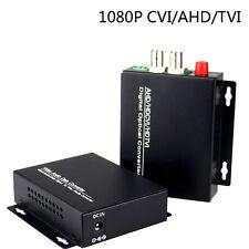HD 2 Video over Fiber Optic Media Converters for 1080P CVI TVI 2MP Camera CCTV