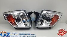 HOLDEN RODEO RA Head lights Headlamps PROJECTOR PAIR left & right 2006 - 2008