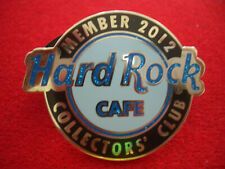 HRC Hard Rock Cafe Online 12th Year Member HRCPCC Logo 2012 LE OVP