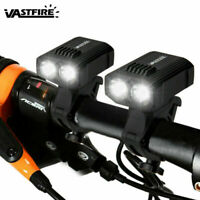 USB Rechargeable 10000LM XML T6 Dual LED MTB Bicycle Light Bike Front Headlight