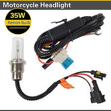 35W 6000K 12V Motorcycle Bike HID Xenon Headlight Globes Bulb H6 H4 Bi-Xenon