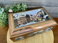 VTG  E. Otto Schmidt Germany Biscuit Cookie Tin Box #90469, Nurnberg Germany