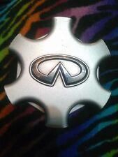 Infiniti QX4 01 02 03 Alloy Wheels Center Cap  Silver w/ Chrome logo 40342-3W700