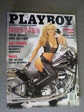 Playboy Magazine August 1997 (Nikki Ziering - cover - Biker Babes)