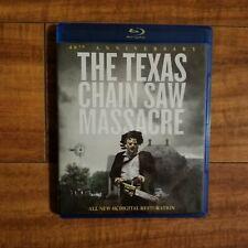 The Texas Chainsaw Massacre (Blu-ray Disc, 2014) 4K Restoration Horror Like New