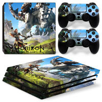 Horizon Zero Dawn For  playstation PS4 PRO Console Stickers & 2 Controllers Skin