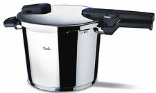 Fissler Vitaquick 10 L / 10.6 qt Pressure Cooker w/ perforated Inset and Tripod