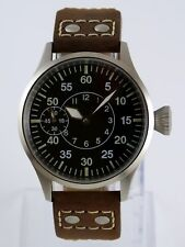 Montre pilote FLIEGER Nav-B PURE MECANIQUE Type Unitas 6497 SAPHIR watch b-uhr