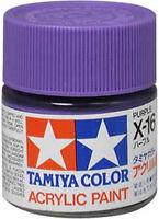 TAMIYA COLOR ACRYLIC X-16 Purple MODEL KIT PAINT 10ml NEW