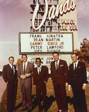 Oceans 11 8X10 Photo Sinatra Martin & Rat Pack