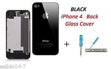 BRAND New Back Battery Housing Cover Glass Replacement for iPhone 4G 4 - BLACK