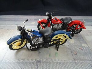 Harley Davidson H D Maisto 1:18 Motorrad Modell 2 Motorräder Konvolut A1575