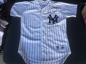 Diamond Collection Russell NY Yankees Jeter-Williams-Pettitte Signed Jersey 40