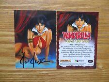 2011 BREYGENT VAMPIRELLA BEST OF JUSKO CARD # VJ-2 SIGNED JOE JUSKO ART,WITH POA