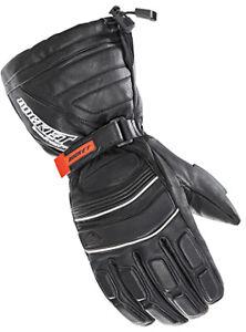 Joe Rocket Extreme Leather Snow Gloves 3XL Black 1802-067