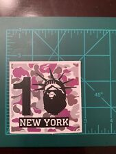 Bathing Ape New York Skate Skateboard Sticker Laptop Cell Phone Decal A