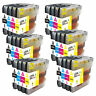 24pk Ink Set Combo For Brother LC61 LC-65  MFC 250C 255CW 290C 295CN 490CW 495CW