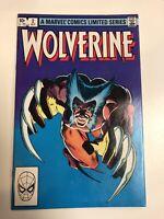 Wolverine Mini (1982) #2 NM Frank Miller