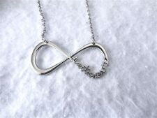 ONE DIRECTION 1D DIRECTIONER INFINITY NECKLACE SILVER WITH BOX