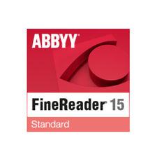 ABBYY FINEREADER 15 STANDARD UPGRADE nuovo.