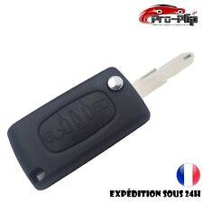 CLE PLIP pour Citroen c1 c2 c3 c4 c5 Xsara Xantia Saxo COFFRE modèle CE0536 @Pro