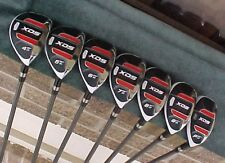 New Lady Hybrids Irons Set Oversize Golf Clubs Easy To Hit w Womens L Graphite