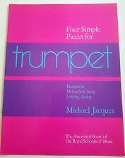 Michael Jacques: Four Simple Pieces for Trumpet (Music Book)