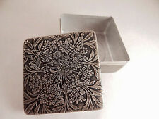 Powder Box Antique 1944 Rare Rene Lalique Lov Lor Cheramy Aluminum Covered Box