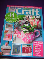 WOMAN'S WEEKLY CRAFT SPECIAL MAGAZINE MARCH 2012 44 MAKES  LOVE & CUPCAKES