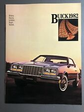 1982 Buick Full Line Showroom Advertising Sales Brochure RARE!! Awesome L@@K