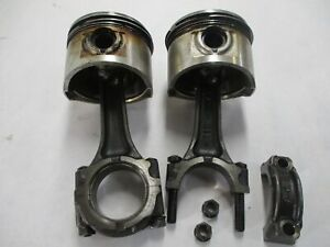 80 HONDA CX500 CX 500 OEM PISTONS WITH CONNECTING RODS 78MM