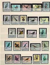 Port. Angola Nice BIRDS USED full set #326-349 Mf 1951 24 stamps Aves de Angola