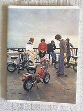 QUADERNO SCOLASTICO ANNI '70 CICLOMOTORE MOTORINO MOTORELLA BENELLI - BEAT