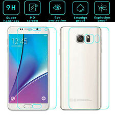 For Samsung GALAXY Note 5 Front + Back Tempered Glass Film Screen Protector Film