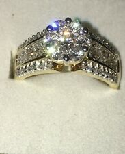 Gorgeous 2ctw 59 Diamond 14k Yellow Gold Ring Never Worn Investment $9200 Retail