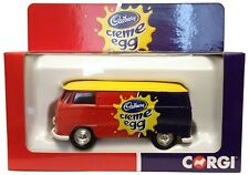 Corgi Toys Volkswagen Transporter T1 Van - Cadbury Creme Egg - BNIB