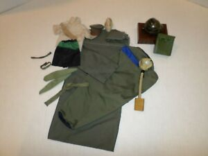 """Gi Joe Ultimate Soldier Lot Of Clothes And Accessories For 12"""" Action Figure"""
