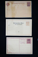 Worldwide 8 Pieces of Early Stationary