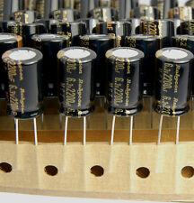 20pcs 2200uf 6.3v Electrolytic Capacitors Rubycon MCZ Low ESR 6.3v2200uf JAPAN L