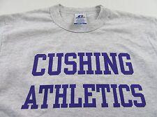 CUSHING ATHLETICS Cushing Academy Sports Fan Gray Russell T Shirt Size S (NWOT)