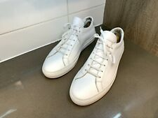 Men's Common Projects Achilles Low size 44 Pre-owned White leather Sneakers