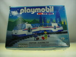 VINTAGE PLAYMOBIL RC TRAIN SET PLAYMOBIL 4020 RC TRAIN