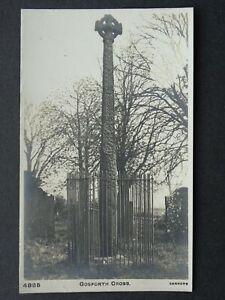 Cumbria St Mary's GOSFORTH CROSS - Old RP Postcard by Sankey High Speed Machine