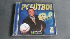 PC Fútbol 6.0, Juego PC, Como Nuevo, Gestión deportiva, Español.