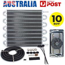 10 Row Remote Transmission Oil Cooler Kit AUTO MANUAL Radiator Converte AU