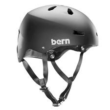 Bern Macon Team EPS Summer Mens Bike Helmet Medium Matte Black