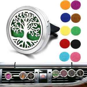 Charm Essential Oil Car Air Outlet Vent Freshener Diffuser Aromatherapy Locket