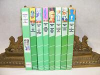 Lot 8 livres Philippe EBLY Conquerants Impossible Évadé Temps Bibliotheque verte