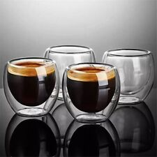 Double Wall Glass Drinkware (Set Of 6)